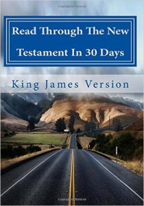 Read Through the new testament in 30 days