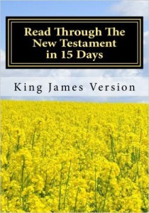 read through the new testament in 15 days
